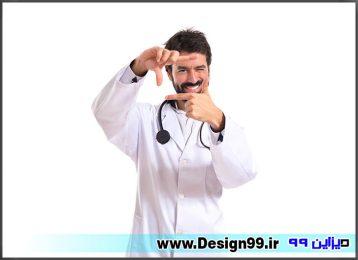 عکس پزشک با کیفیت بالا - دیزاین 99